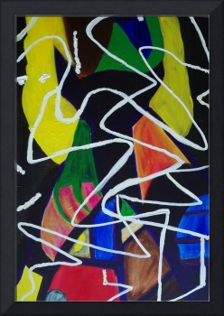 Untitled Abstract Painting 1 -Heather Schillinger