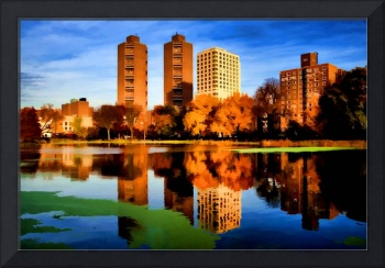 Autumn at the Harlem Meer, NYC