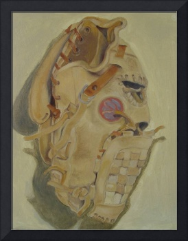Painting#7 - Floyd's Baseball Glove