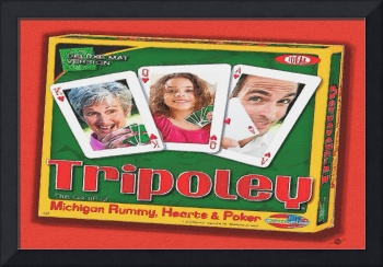 Tripoley Board Game Painting