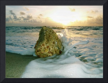 Sunrise Seascape Wisdom Beach Florida C4