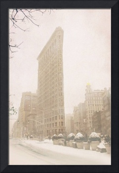 Flatiron in Winter