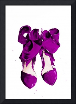 The Purple Shoes