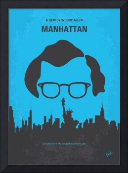 No146 My Manhattan minimal movie poster