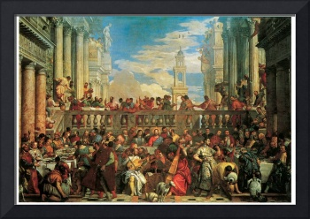 Veronese's The Wedding Feast at Cana