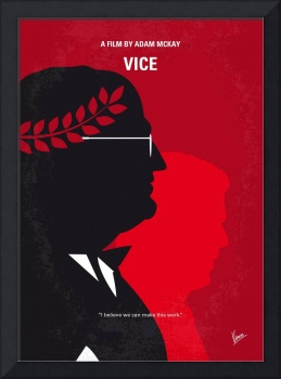 No1043 My Vice minimal movie poster