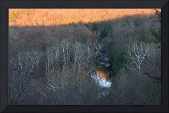 Sunset Over Tinker's Creek Gorge