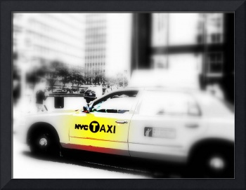 NYC TAXI ON PARK AVENUE
