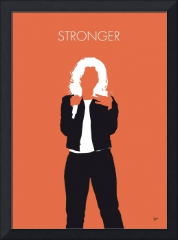 No283 MY Kelly Clarkson Minimal Music poster