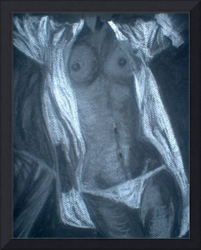 Nude in Charcoal I