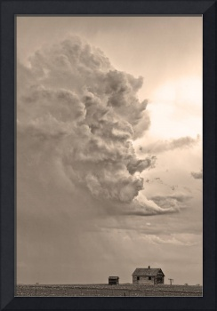Monster Cloud Sepia Country