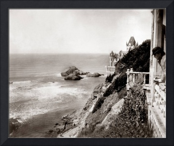 Looking out from Cliff House San Francisco c1890