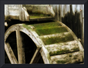 Cable Grist Mill Water Wheel in Cades Cove