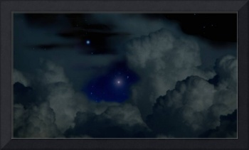 Night Clouds and Stars