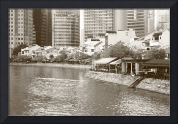 Cityscape Singapore 2014, Original Monochrome in-c