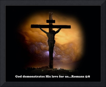 God demonstrates His love for us