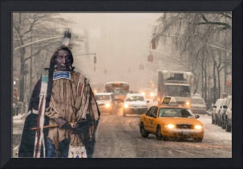 Native American In Chicago City