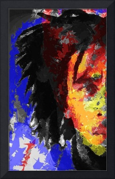 Abstract Bob Marley