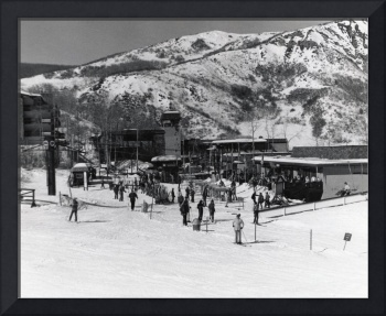 Snowmass Village mall - late '60s