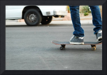 board to the pavement