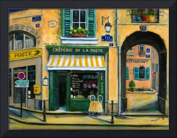 French Creperie shop