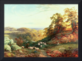 Watching the Flock by George Vicat Cole