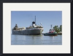 Tug Cleveland and Freighter Cuyahoga by Rich Kaminsky