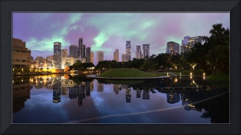 KLCC Park Sunrise Panorama