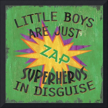 Little Boys are Just Superheros