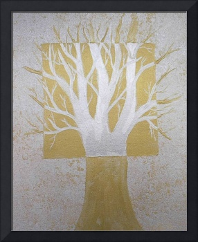Tree (in silver and gold)