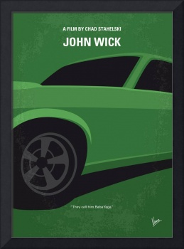 No759 My John Wick minimal movie poster