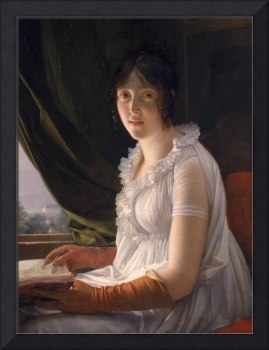 Seated Portrait of M. Walbonne, by Gerard, c1796