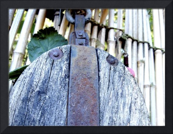 Old and Rusty Pulley