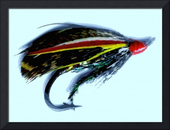 Antique Salmon Fly