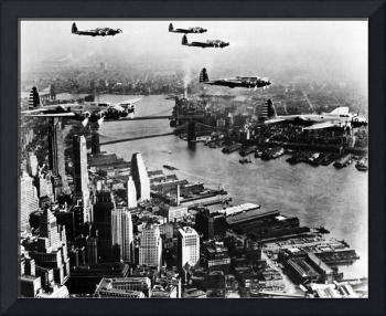 Planes over the City