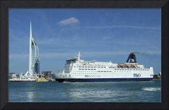 Pride of Bilbao, entering Portsmouth