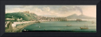 View of Naples from the west, 1730
