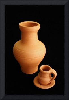 Small pottery items