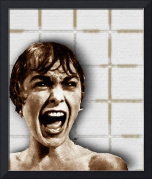 Psycho by Alfred Hitchcock, with Janet Leigh Showe