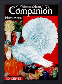 Vintage Woman's Home Companion Cover Art