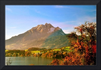 Autumn in Swiss country side