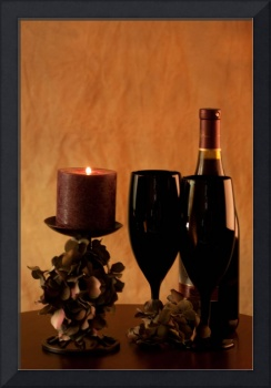 Wine for Two by Candlelight