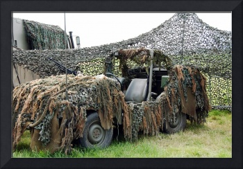 VW Iltis of the Special Forces Group of the Belgia