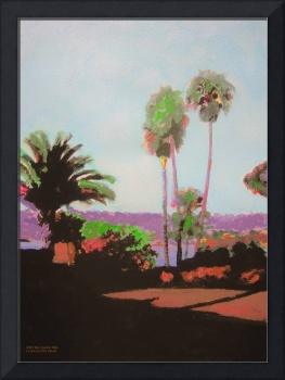 La Jolla Cove Palms by RD Riccoboni