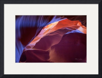 Slot Canyon #1 by Kelly Jones