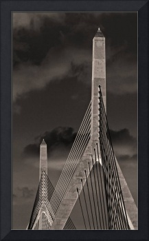 Leonard P Zakim Bunker Hill Memorial Bridge Boston