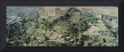 Aerial view of a landscape