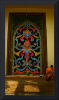 Quiapo Mosque Door