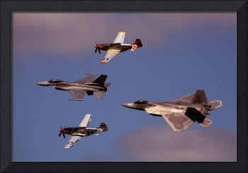 Heritage Flight NAS Oceana