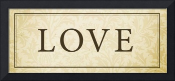 Love Sign/Plaque